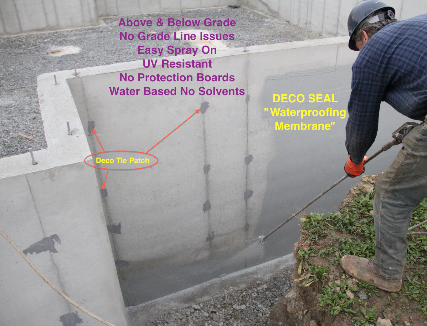 Deco Seal Waterproofing Membrane Gray