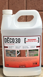 Deco 30 Brick & Stucco Masonry Sealer 1 gal. (Shipping Incl.) Stucco Sealers, clear sealer, deco sealers, environmental, waterproofing, brick sealer, masonry sealer