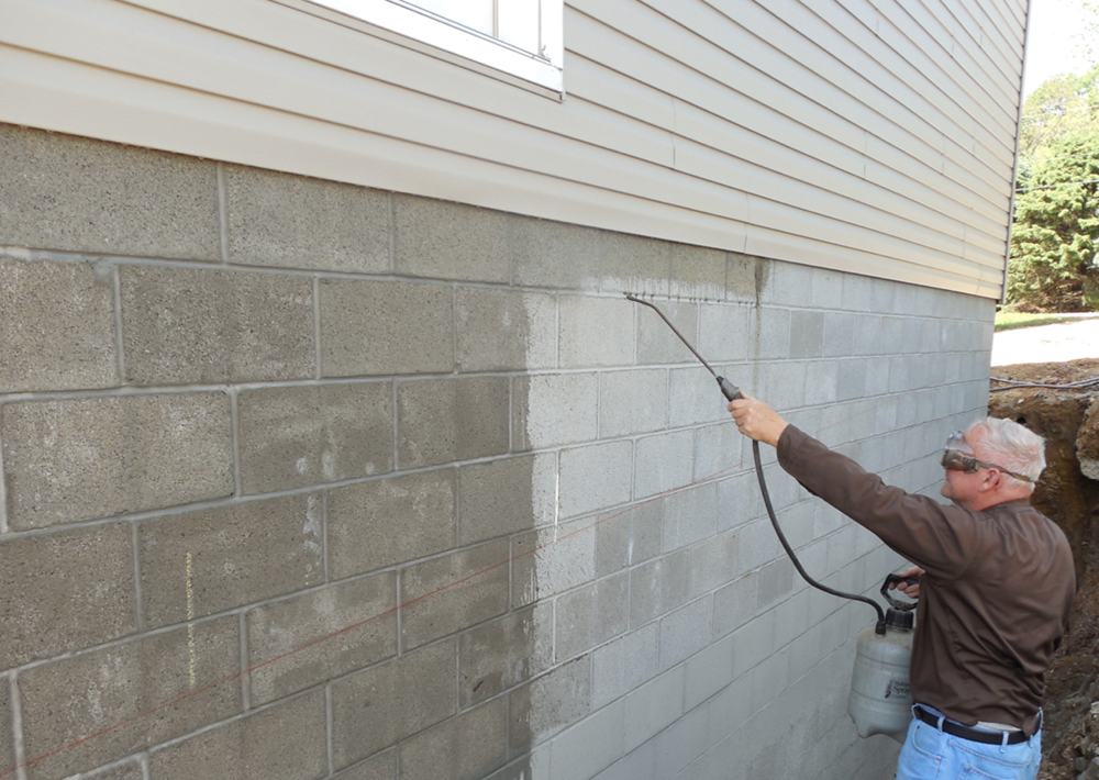 Deco 20 clear penetrating concrete sealer - Sealing exterior cinder block walls ...