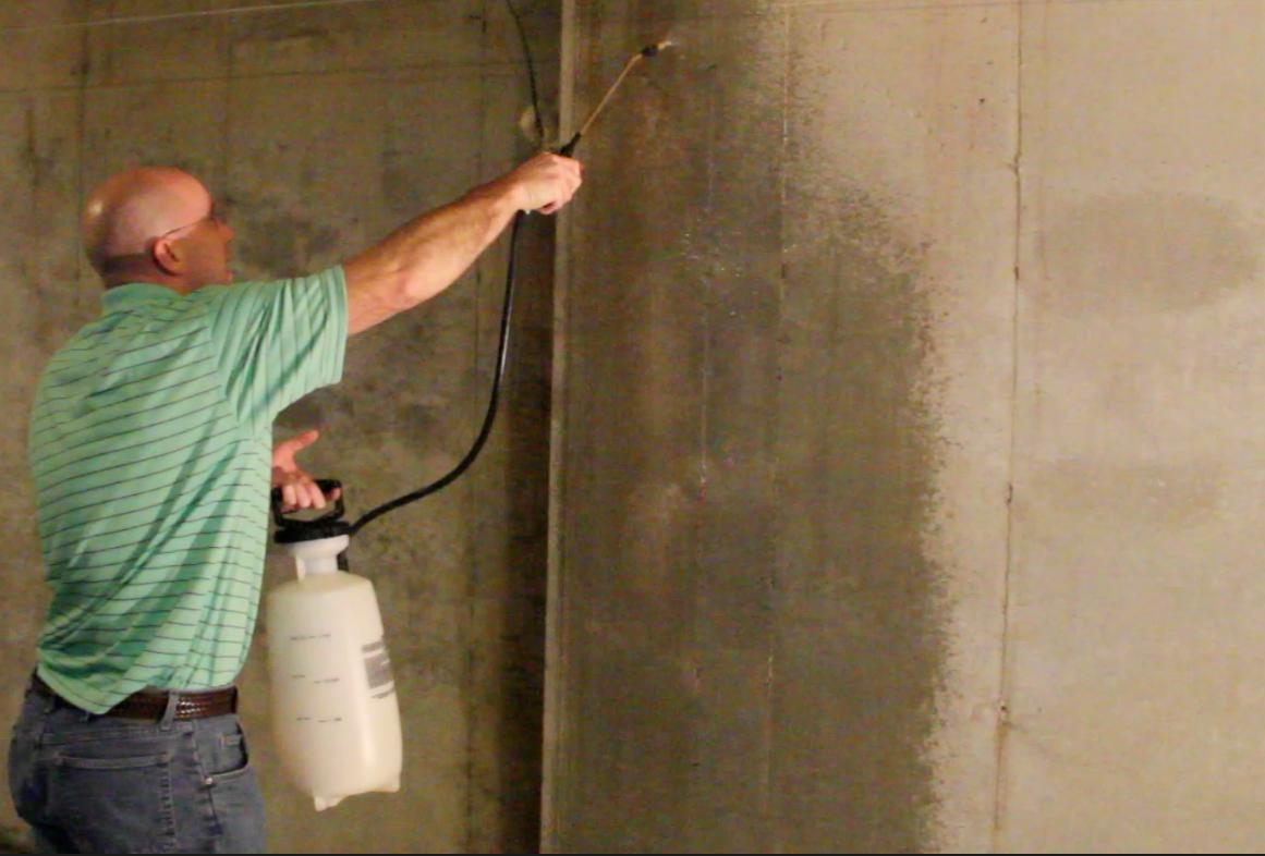 Clear Penetrating Concrete Sealer