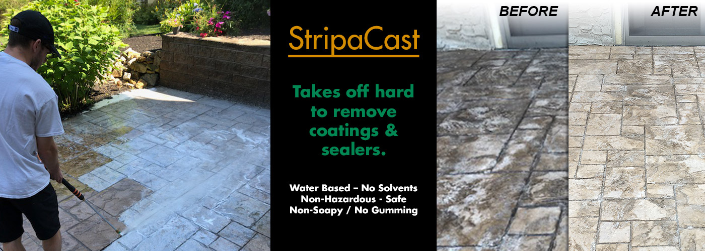 StripaCast - Takes off hard to remove coatings and sealers